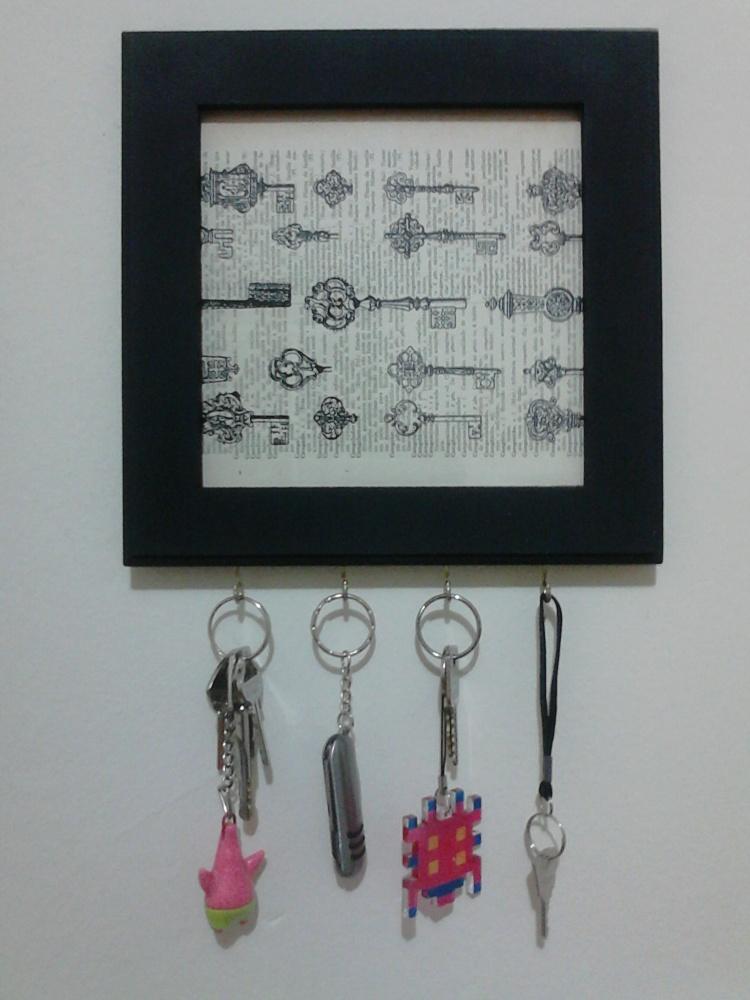 DIY - Porta chaves (4/4)