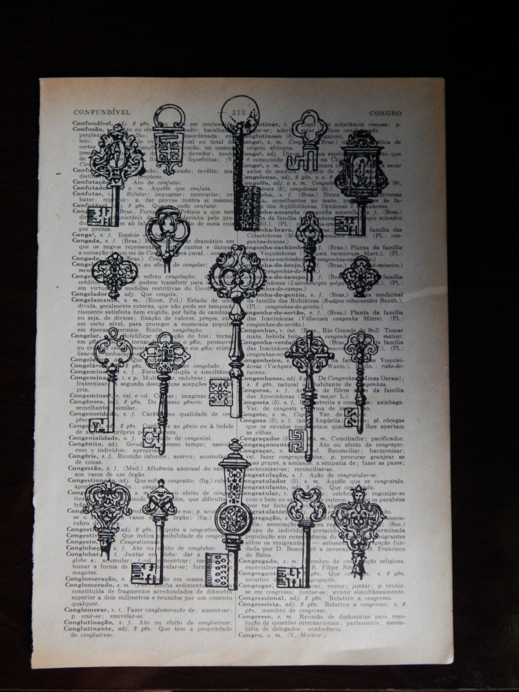 DIY - Porta chaves (3/4)